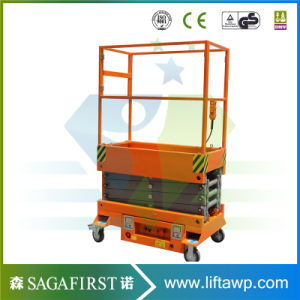 3m 4m Small Electric Aerial Work Platform pictures & photos