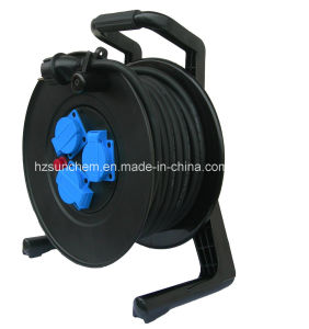 Power Extension Retractable Cable Reel