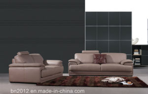 Living Room Genuine Leather Sofa (H3016) pictures & photos