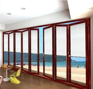 Feelingtop Good Quality Luxury Aluminum Folding Door pictures & photos