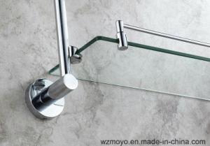 Bathroom Accessories Double Glass Shelves pictures & photos
