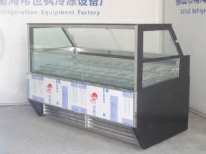 Icecream Continuous Display Freezer pictures & photos
