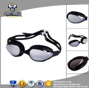 Hot Sale Silicone Racing Swimming Goggles with Case