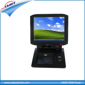 LCD All in One PC Touch Screen Visitor Management Kiosk pictures & photos