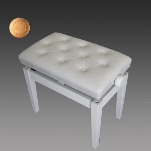 Wholesale Modern Ivory Silver White Piano Bench From China