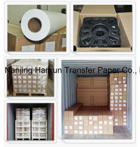"""64"""" 100GSM Anti-Ghost Tacky Sublimation Heat Transfer Paper pictures & photos"""
