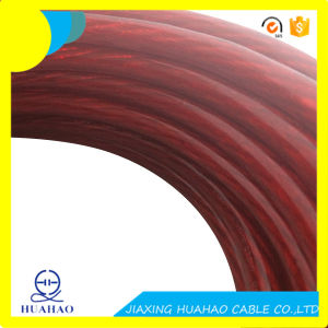 4AWG Red Transparent Car Power Cable with Copper Conductor pictures & photos