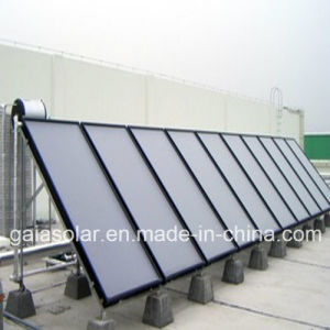Greenhouse Flat Plate Solar Water Heater Cooper Colletors pictures & photos