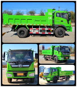 Foton Euro III Tipper Truck with Fast 10js90A Gear Box pictures & photos