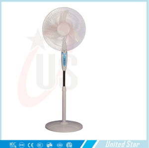 16inch Solar DC Fan Stand Fan with Light Cheap Fan Long Life pictures & photos