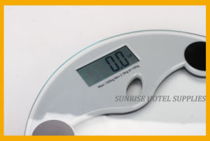 Hotel Round Shape Bathroom Digital Scale pictures & photos