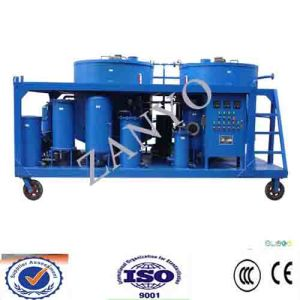 9000L/H Vacuum Lubricating Oil Filtration Machinery pictures & photos