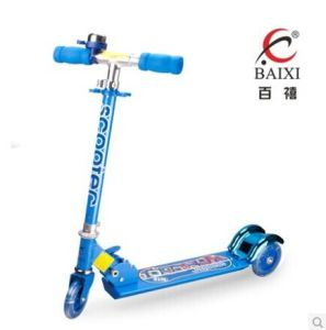 2016 Children Kick Scooter with Blue Color (BX-3M005) pictures & photos