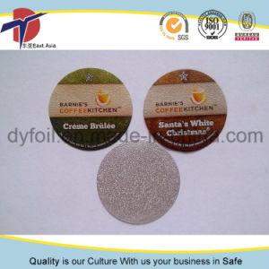PP Heat Sealing Printed Yogurt Cup Aluminum Foil Lid pictures & photos