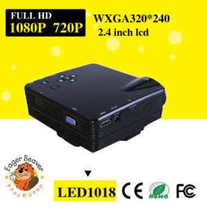 320*240 Support 720p/1080P 20-80 Inch 3D Projector