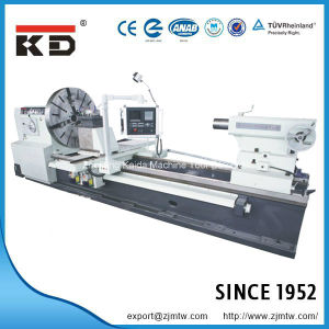 Kaida Heavy Duty Big Bore Flat Bed CNC Lathe Ck61160/8000 pictures & photos