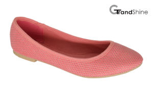 Women′s Canvas with Rivet Flat Casual Ballet Shoes pictures & photos