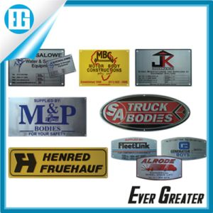 Customized Metal Tag Plate with Customer′s Logo pictures & photos