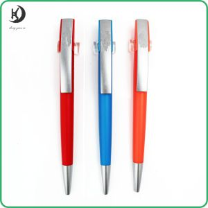 New 2016 Cheap Customized Pen with Logo Promotional Plastic Ball Pen