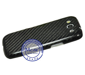 High Quality Real Carbon Fiber Mobile Phone Case for Samsung Galaxy S3 pictures & photos