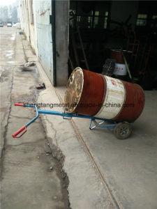 Steel Oil Dispensing Drum Trolley 500kg pictures & photos