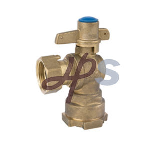 Brass Straight Lockable Ball Valve with Copper Handle pictures & photos