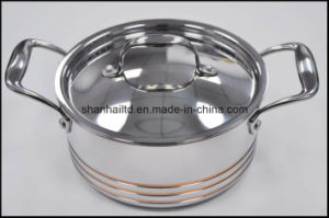 5ply Copper Core Body Cookware Set pictures & photos
