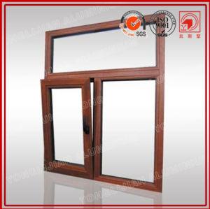 Wooden Patern Aluminum Tilt & Turn Window in Standard 2047 pictures & photos