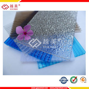 Proved by SGS, ISO, PC Embossed Sheet/ Twin Wall PC Hollow Sheet/ PC Sheet Price pictures & photos