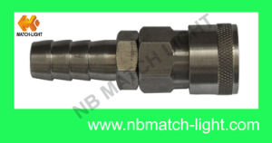 Stainless Steel Pneumatic Quick Couplings Hydraulics pictures & photos