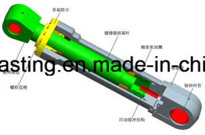 OEM Alloy Steel Casting CNC Machined Boom Cylinder pictures & photos