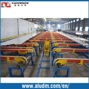 Energy Saving Aluminum Extrusion Machine in Profile Cooling Tables/Handling System pictures & photos