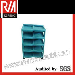 Plastic Shoe Rack Mould (TZRM-SRM15112) pictures & photos