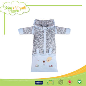 Winter&Autumn Warm Soft Long Sleeves Baby Sleeping Bag