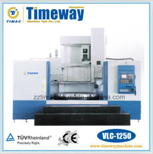 CNC Single Column Vertical Turning Center for Turning and Drilling pictures & photos