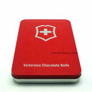 High Quality Rectangular Box for Chocolate Tin Gift Packaging Box