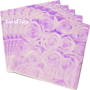 Paper Dinner Napkins Party Supplies China pictures & photos