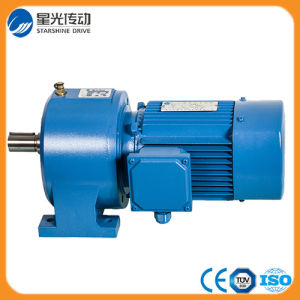 3# Ncj Series Foot Mounted Helical Geared Motor pictures & photos