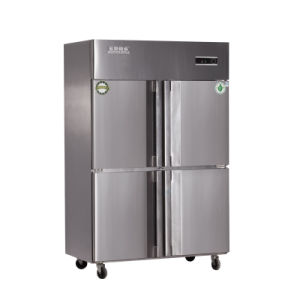 103kg Four Doors Double Compressors Kitchen Refrigerator