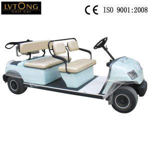Battery Operated 4 Seats Utility Golf Cart pictures & photos