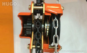 1 Ton Chain Pulley Block with Geared Trolley pictures & photos