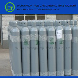 High Purity 40 Lt Seamless Steel Cylinder Argon Gas pictures & photos