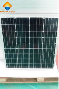 60W Powerful PV Cell High Efficiency Monocrystalline Solar Panel pictures & photos
