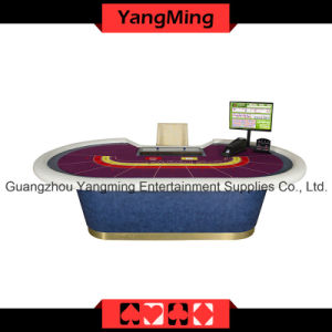 8 P Baccarat Casino Poker Table Can Be Custom (YM-BA07) pictures & photos