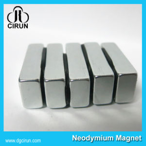 N35 Strong Lifting Motor Neodymium Block Magnet pictures & photos