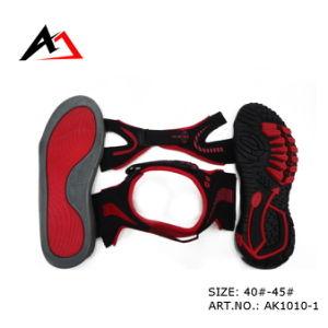 Semi Sandal Shoes Cheap Comfort for Men (AK1010-1) pictures & photos