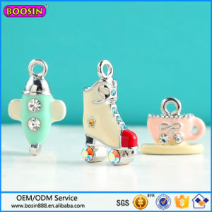 Factory Price Enamel Charm, Mini Air Plane Charm pictures & photos