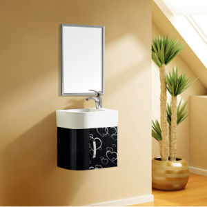 Wall Hang Bathroom Stainless Steel Vanity Cabinet (T-9464) | pictures & photos