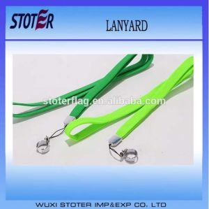 Best Price Thick Woven Embroidered Lanyards with Customized Logo