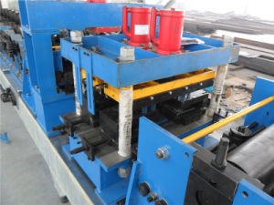 Punching Head C Z Changeable Purlin Roll Forming Machine pictures & photos